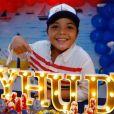 Filho de Wesley Safadão,  Yhudy completou 8 anos e ganhou uma festa do cantor