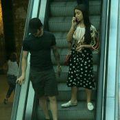 Alexandre Pato é fotografado com Bianca Andrade em shopping. Fotos!