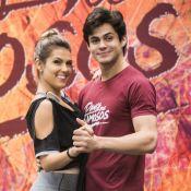 Lucas Veloso está morando com a namorada, Nathalia Melo, em SP: 'Já queríamos'