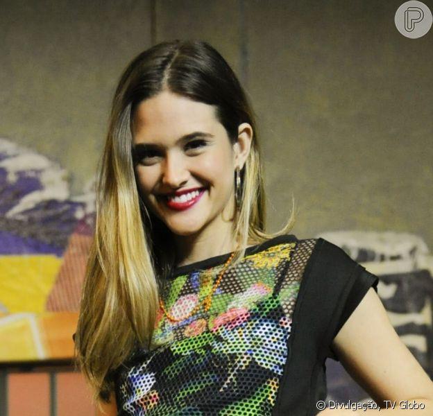 Juliana Paiva faz participação em 'Malhação Sonhos' como Fatinha, que está grávida de gêmeos, em 10 de setembro de 2014