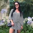 Graciele Lacerda, mulher de Zezé Di Camargo, se definiu com estilo eclético