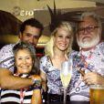 No último Carnaval, Caio Nabuco circulou pelo sambódromo do Rio com Mariana Ximenes
