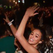 Marquezine curte gravação de DVD de Ivete Sangalo e tieta cantora após show