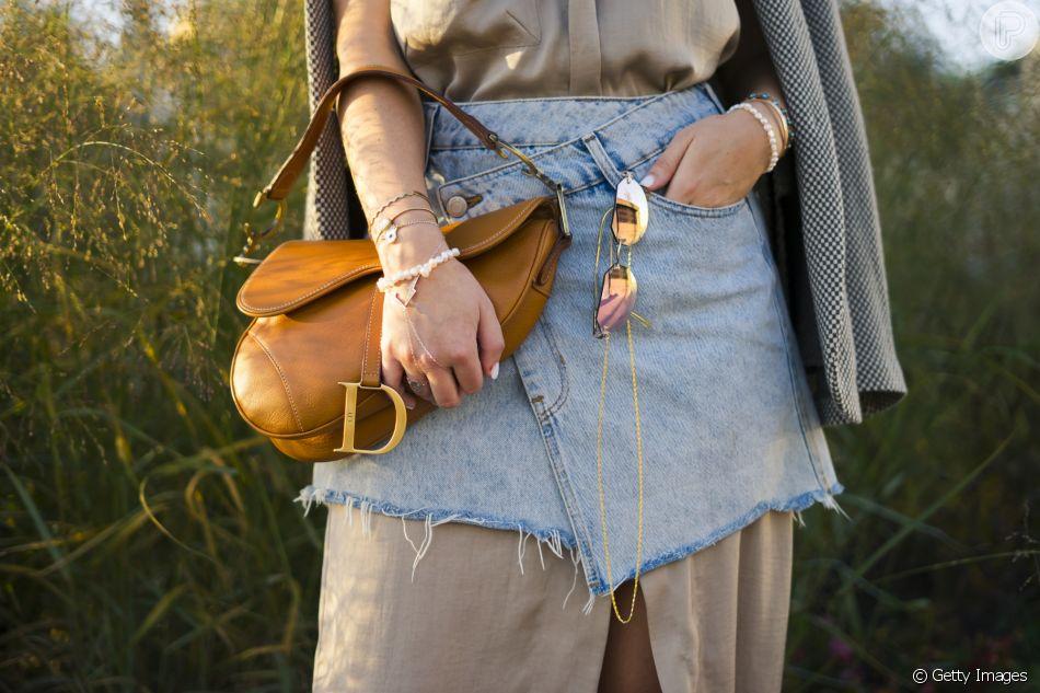 Saddle Bag foi uma das bolsas queridinhas do ano 2018. O modelo é da grife Dior