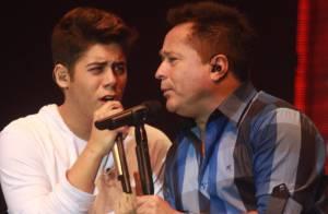 Leonardo faz show com o filho José Felipe por seus 30 anos de carreira, no Rio