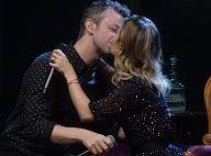 Sandy troca beijo com o marido, Lucas Lima, e canta com o pai em show. Fotos!