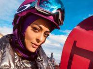 Radical! Juliana Paes pratica snowboard em viagem aos EUA: 'Primeira descida'