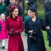 Kate Middleton e Meghan Markle juntam-se à família real em culto de Natal. Veja!