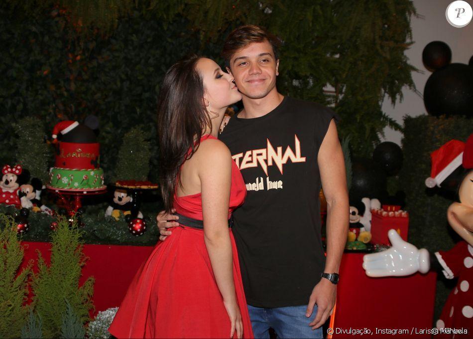 Larissa Manoela apresentou Leo Cidade em seu aniversário de 17 anos ... dd433cbb8f