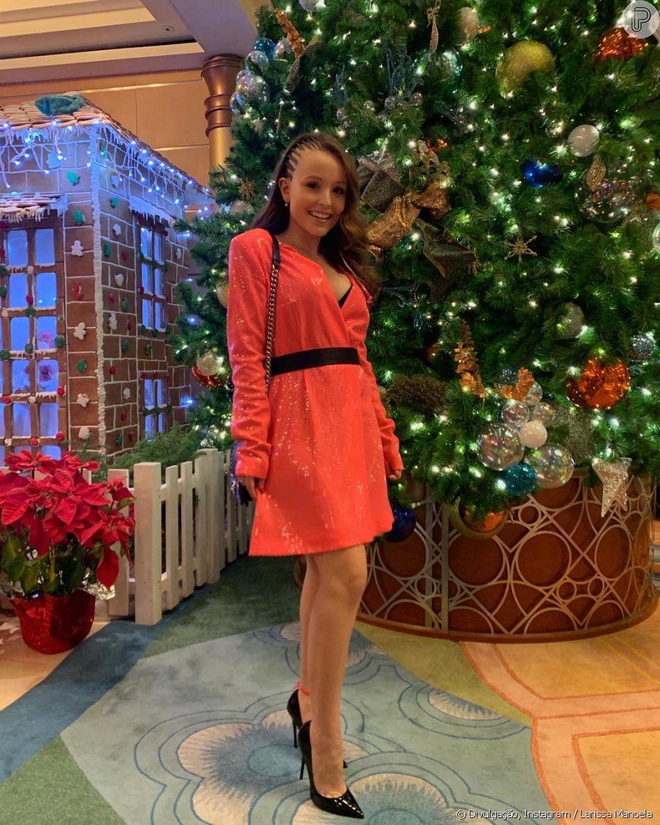 Larissa Manoela comemorou o Natal em cruzeiro da Disney - Purepeople 10c86771a8