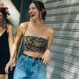 Jeans no verão + animal print