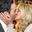 Ticiane Pinheiro se casou com César Tralli em dezembro de 2017 em Campos do Jordão