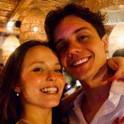 Larissa Manoela e Leo Cidade festejam 1º réveillon juntos: 'Você me completa'