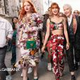 Assim como Bruna Marquezine, Marina fez sua primeira campanha internacional com a Dolce & Gabbana
