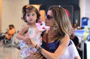 Grazi Massafera conta que Sofia, de 2 anos, é vaidosa: 'Adora batom e esmalte'