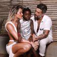 A família chegou recentemente de viagem após passar miniférias e curtir festas de réveillon em Fernando de Noronha, arquipélago pernambucano