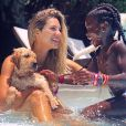 Giovanna Ewbank mostra Títi adestrando filhote de cachorro