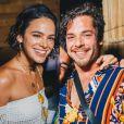Bruna Marquezine e Gian Luca Ewbank foram vistos recentemente curtindo festas e curtiram réveillon em Noronha