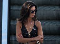Fátima Bernardes aposta em produção casual chic para passeio no shopping. Fotos!