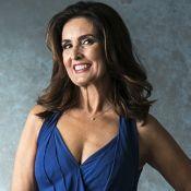 Fátima Bernardes, sem make, faz abdominal e ganha elogios: 'Que corpo'. Foto!