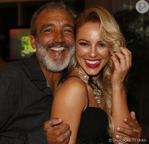 Paolla Oliveira e o diretor da TV Globo Rogério Gomes não estão mais juntos