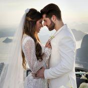 Da troca de alianças à decoração: fotos do casamento de DJ Alok e Romana Novais