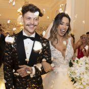 Grávida e recém-casada, Gabi Brandt antecipa lua de mel com marido: 'Fevereiro'