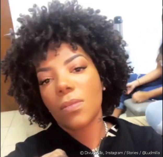 Ludmilla surpreende fãs e exibe cabelo natural no Instagram
