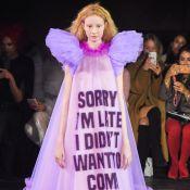 Semana de Moda de Paris: grife Viktor e Rolf desfila com recados inusitados