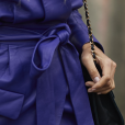 Tendências da Moda de Rua da Paris Fashion Week: blazer com amarração