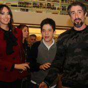 Marcos Mion barbeia filho mais velho, Romeo, e emociona mulher: 'Que lindo!'