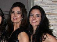 Fátima Bernardes mostra gingado em aula de dança com a filha Beatriz: 'Morta'