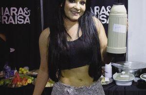 De calça lurex e top, Maraisa surpreende fãs com foto: 'E esse abdômen?'