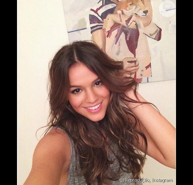 Bruna Marquezine posta foto e Luan Santana comenta: 'Por que é tão linda?', em 23 de setembro de 2014