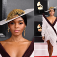 Looks do Grammy Awards 2019:  Janelle Monáe vestiu Jean Paul Gaultier