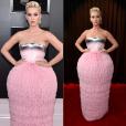 Looks do Grammy Awards 2019: Katy Perry usou vestido Balmain para a premiação