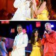 Looks do Grammy Awards 2019: Ricky Martin, Camila Cabello e J Balvin durante apresentação