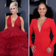 Looks do Grammy Awards 2019: Bebe Rexha e Alicia Keys optaram pelo vermelho