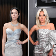 Looks do Grammy Awards 2019: Dua Lipa e Lady Gaga apostaram no prata