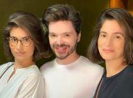 Hairstylist detalha corte bob de Renata Vasconcellos e irmã gêmea. Inspire-se!