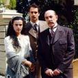 Giuliana (Ana Paula Arósio) foi acolhida na casa de Francesco (Raul Cortez) ao chegar ao Brasil