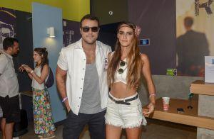 Casal na folia! Joaquim Lopes e Marcella Fogaça curtem bloco famoso de SP