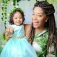 Yolanda sempre rouba a cena nas redes sociais da mãe, Juliana Alves