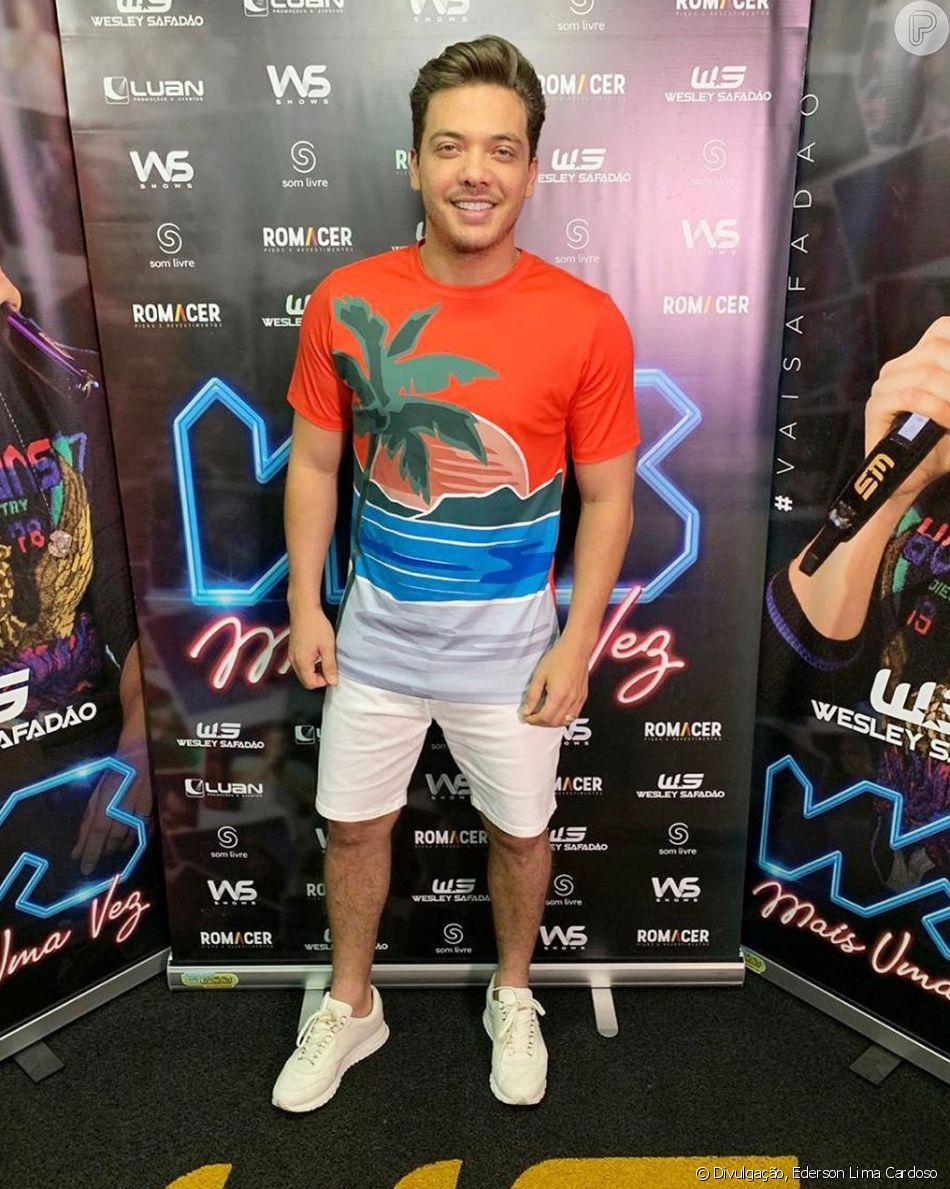 Wesley Safadão surpreendeu os fãs com estilo e corpo mais magro em foto