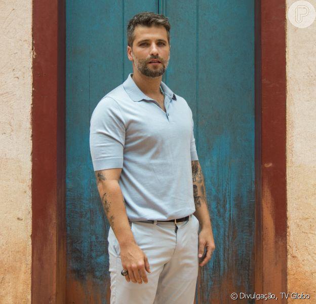 Bruno Gagliasso foi afastado de novela 'O Sétimo Guardião' e passou por cirurgia para retirar cálculo renal nesta terça-feira, 26 de fevereiro de 2019