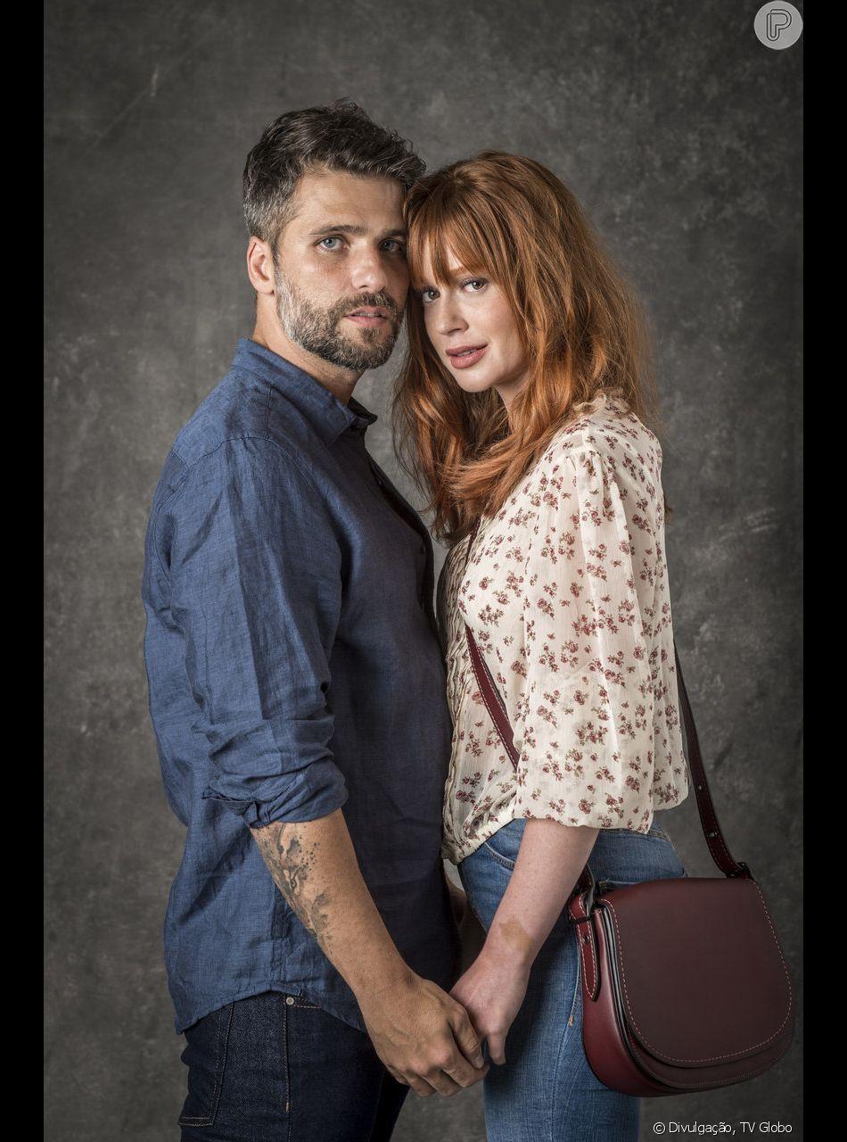 Luz (Marina Ruy Barbosa) e Gabriel (Bruno Gagliasso) vão transar em visão da ruiva nos próximos capítulos da novela 'O Sétimo Guardião'. Gravação da cena da trama das nove que aconteceria nesta quinta-feira, 28 de fevereiro de 2019, acabou adiada