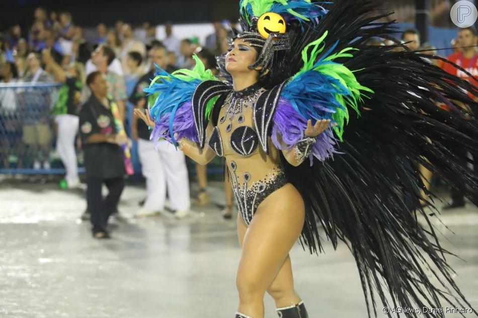 08a39b6f3 Mileide Mihaile foi uma das musas da Grande Rio no desfile desta segunda (4)