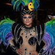 Mileide Mihaile representou a tecnologia com sua fantasia na Grande Rio