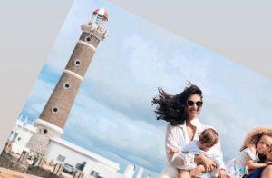 Débora Nascimento surge de biquíni durante viagem ao Uruguai com amiga. Foto!