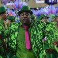 Ailton Graça também desfilou pela Mangueira no Carnaval do Rio de Janeiro